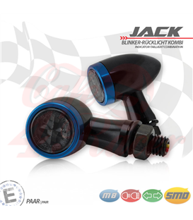 "SMD turn signal / RL set ""Jack""  3in1 blue"