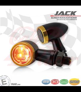 """SMD Led smerovky, brzdové svetlo / RL """"Jack""""  3in1 zlaté"""