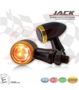 "SMD turn signal / RL set ""Jack""  3in1 gold"