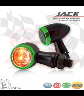 """SMD Led smerovky, brzdové svetlo / RL """"Jack""""  3in1 zelené"""