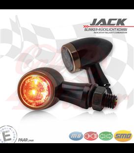 """SMD Led smerovky, brzdové svetlo / RL """"Jack""""  3in1 meď"""