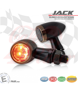"SMD turn signal / RL set ""Jack""  3in1 coper"