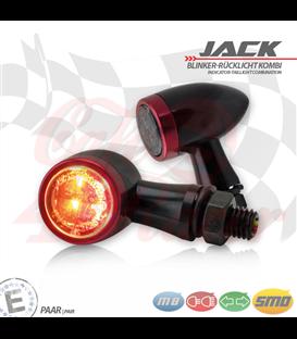 """SMD Led smerovky, brzdové svetlo / RL """"Jack""""  3in1 červená"""