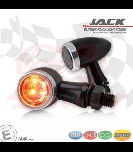 """SMD Led smerovky, brzdové svetlo / RL """"Jack""""  3in1 stireborná"""