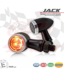 "SMD turn signal / RL set ""Jack""  3in1 silver"