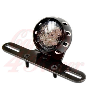 "LED rear light ""CNC"" black ring"