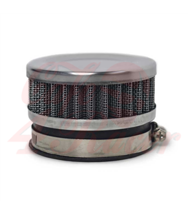 Round clamp  60mm black  Air filter