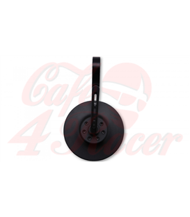 HIGHSIDER Bar end mirror CONERO 2 - BLACK EDITION -, short
