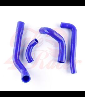 Silicone Motorcycle Radiator Hose Pipe Tube Kit   For BMW K100 1982-1992  BLUE