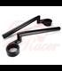 Rebelmoto Clip-Ons  HIGH Rise clip-ons 41.3mm BMW K series BLACK