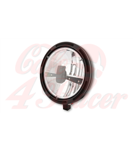HIGHSIDER 7 inch LED Hlavný svetlomet  FRAME-R1 dolný úchyt type 3