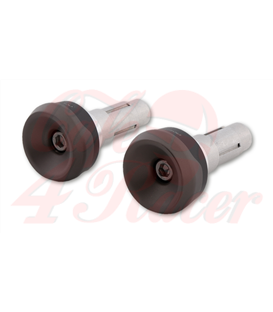 HIGHSIDER Handlebar weights AKRON-XS titanium matt