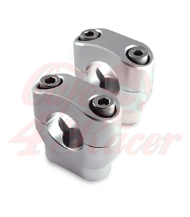 Risers 1″  Height 32mm anodized silver