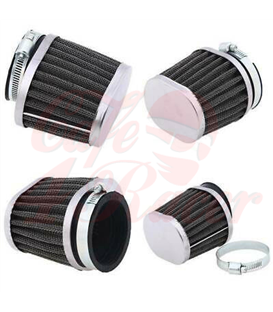 4pcs oval  air filters for  BMW K-Series  K100 RS 16V, K1100 16V
