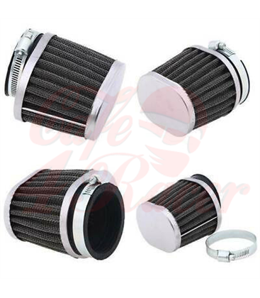 4pcs oval  air filters for  BMW K-Series  K100 RS, K1000 16V