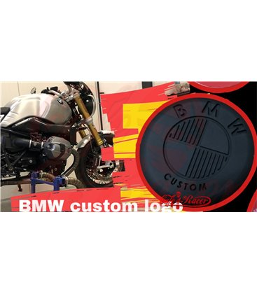 BMW K 75/100/1100/K1 TANK logo 70mm  2ks čierne