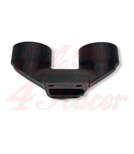 BMW K-Series Air Intake adapter  Black PLA for 2 filters 54  mm outlet
