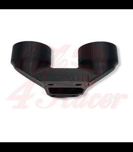 BMW K-Serie Air Intake PLA rovny pre 2 filtre  54mm