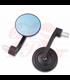 RETRO Aluminum CNC   Handle Bar End Side Mirrors black