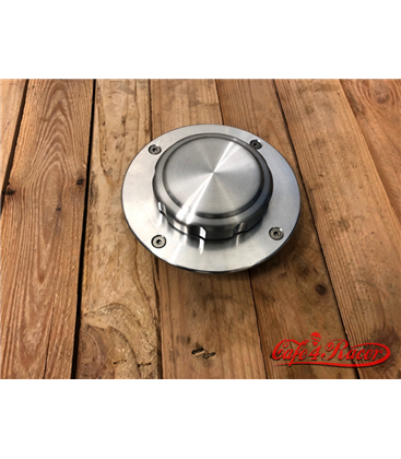 BMW K75/100/1100 Fuel Tank Gas Cap Polished with lock NOLOGO