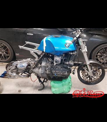 BMW K100  right side pipe + Thunder Slash