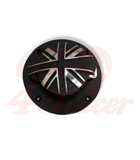 BMW K75/100/1100 Fuel Tank Gas Black with lock  MONZA BlackJack Union Jack Monza Cap Kit