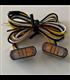 "LED built-in turn signal position light set ""Heat"""