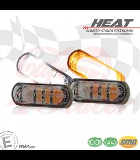 """Vstavané LED obrysové smerovky  """"Heat"""""""