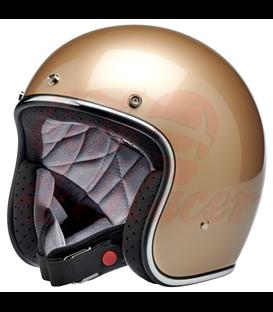 Biltwell Bonanza helma otvorená Metallic CHampagne