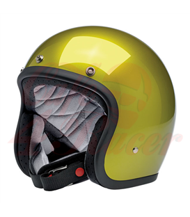 Biltwell Bonanza Helmet Open Face  Metallic Sea Weed