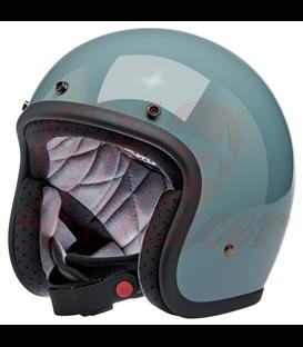 Biltwell Bonanza Helmet Open Face  Gloss Agave