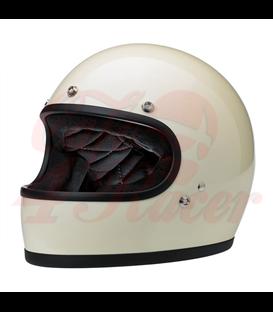 Biltwell Gringo Tracker helma integrálna Vintage White