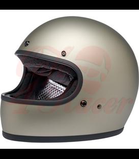 Biltwell Gringo Helmet Full Face Titanium