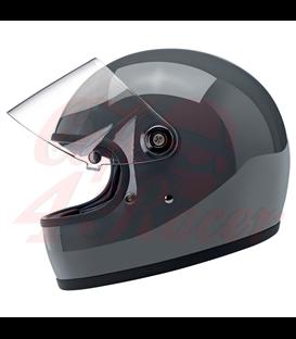 Biltwell Gringo S Helmet Full Face Gloss Storm Grey