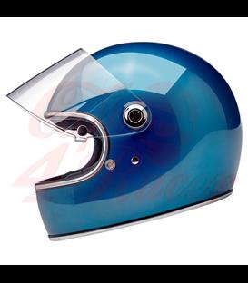 Biltwell Gringo S Helmet Full Face Gloss Pacific Blue