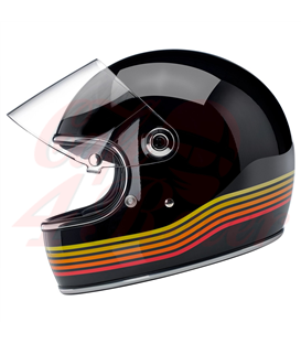 Biltwell Gringo S  helma integrálna  Gloss Black Spectrum
