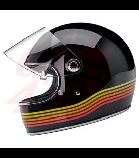 Biltwell Gringo S Helmet Full Face Gloss Black Spectrum