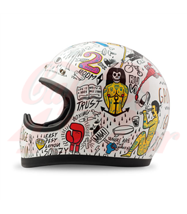 DMD Racer Helmet Tribal