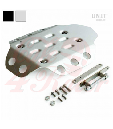 Engine protection plate in aluminium  for  BMW R9T Roadster / Pure / Racer / Urban GS /Scrambler / R120GS