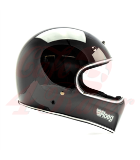 Roeg Peruna helmet čierna lesklá