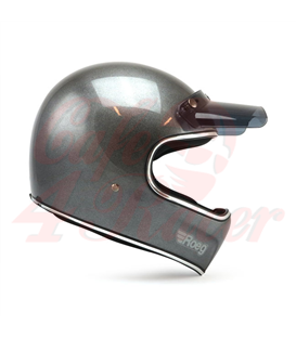 Roeg Peruna helmet Metal Black lesklá