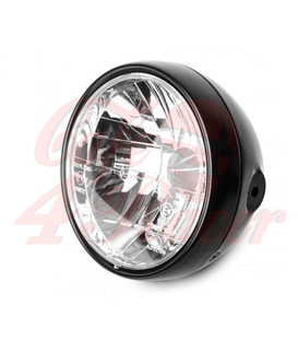 "7"" Clear Black Gloss Healight RENO 1"