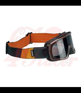Biltwell Overland 2.0 Tri-Stripe goggle brown G/R/B