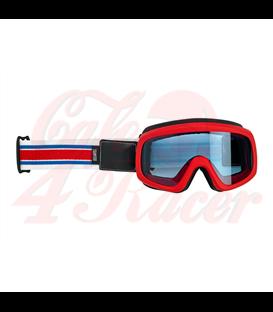 Biltwell Overland 2.0 Racer goggle R/W/B