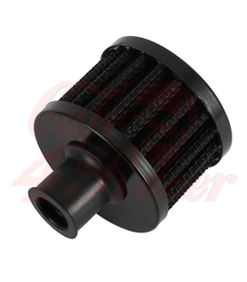 Round 12mm Air filter BLACK