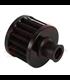 Okrúhly 18 mm filter čierny