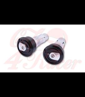 HIGHSIDER Handlebar weights ENTERPRISE-EP1 strieborný