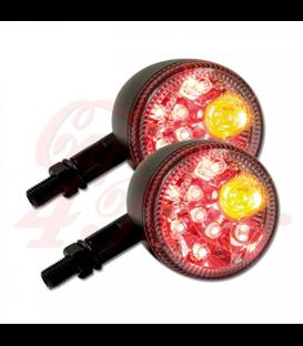 """DAYTONA Zadné svetlo 3v1 LED, brzdové svetlo, smerovka  """"SOL-W"""""""