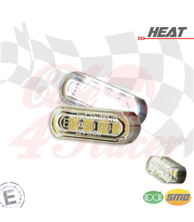 "LED license plate light ""Heat"""