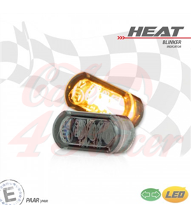"LED built-in turn signal set ""Heat"""